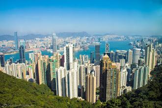 Photo: The Peak Tower, Victoria Gap, Hong Kong