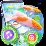 Lucky Live 3D Koi Fish Theme Icon