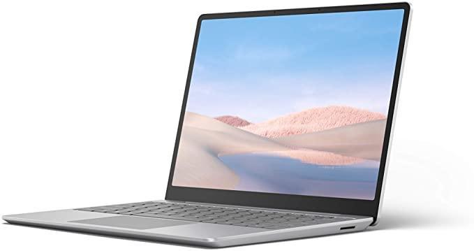 "Microsoft Surface Laptop Go - 12.4"" Touchscreen - Intel Core i5 - 8GB Memory - 128GB SSD - Platinum - English"