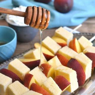 Peaches & Cream Kabobs