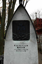 Photo: Chekhov's grave - Moscow, Russia