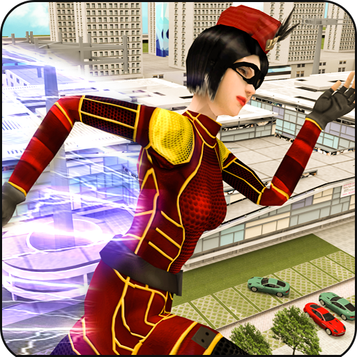 Flash Girl speed hero-Multi flash mortal battle (game)