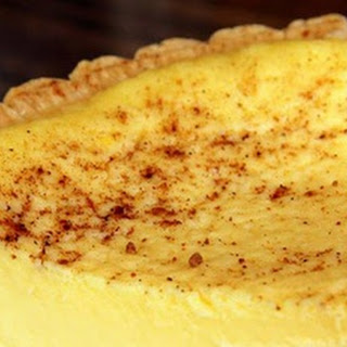 The Old Fashioned Custard Pie