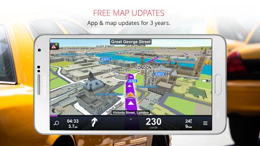 Sygic Taxi Navigation screenshot 2