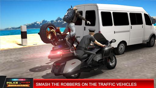 Police vs Thief MotoAttack 1.0 screenshots 4