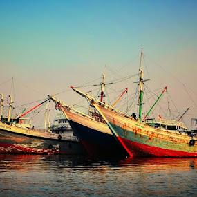 by Henry Novianto - Transportation Boats