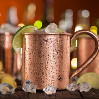 Spicy Moscow Mule.