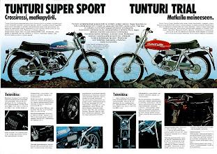 Photo: Tunturi Super Sport ja Trial 79