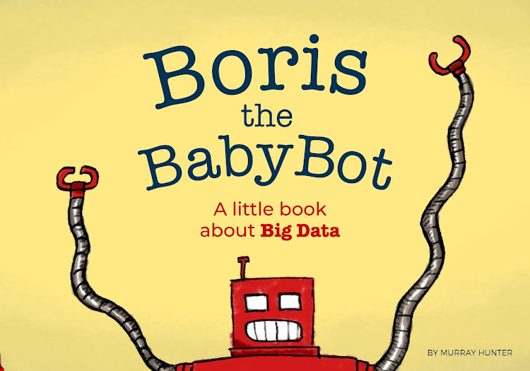 'Boris the BabyBot: A little book about Big Data'.