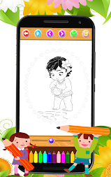 Coloring book moana APK screenshot thumbnail 2