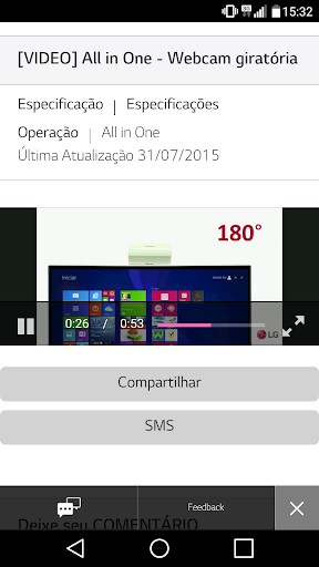 LG Suporte 2.1.2.0 screenshots 4