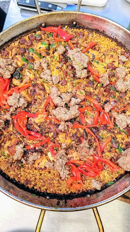 Paella Sundays at Chesa