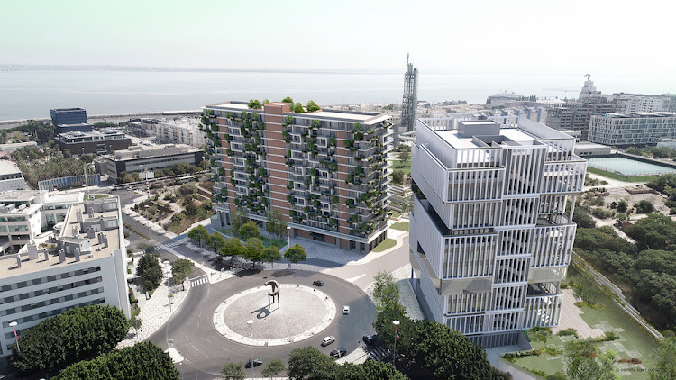 Computer-generated images of Martinhal Residences in Lisbon, Portugal. Picture: SUPPLIED/PAM GOLDING INTERNATIONAL