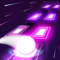 Neon Tiles Hop Color Ball : Forever Dancing Ball icon