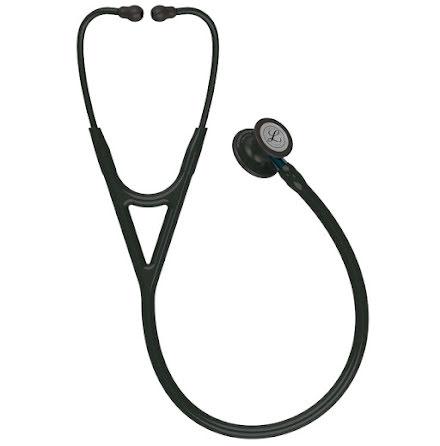 Littmann Cardiology IV Stetoskop, Black-Finish Chestpiece, Black Tube