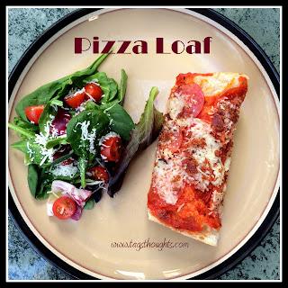 Baked Pizza Loaf