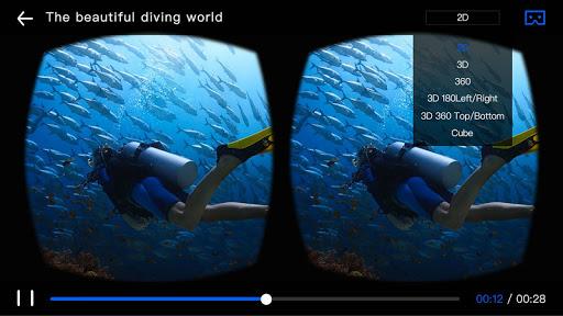 3D VR Player-3D Movie Video 1.11.0220.1002 screenshots 1
