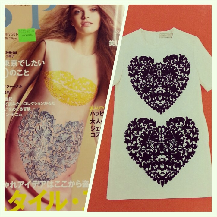 Inspiration: I Heart Lace Dress - DIY Fashion Garments - fafafoom.com