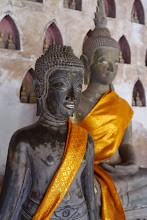 Photo: More Buddha statues at Wat Sisaket, only ancient temple to survive the destruction of Vientiane by Siam in 1828