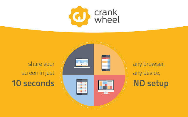 CrankWheel Screen Sharing