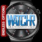 WatchR - Multi Watch Face & Clock Widget icon