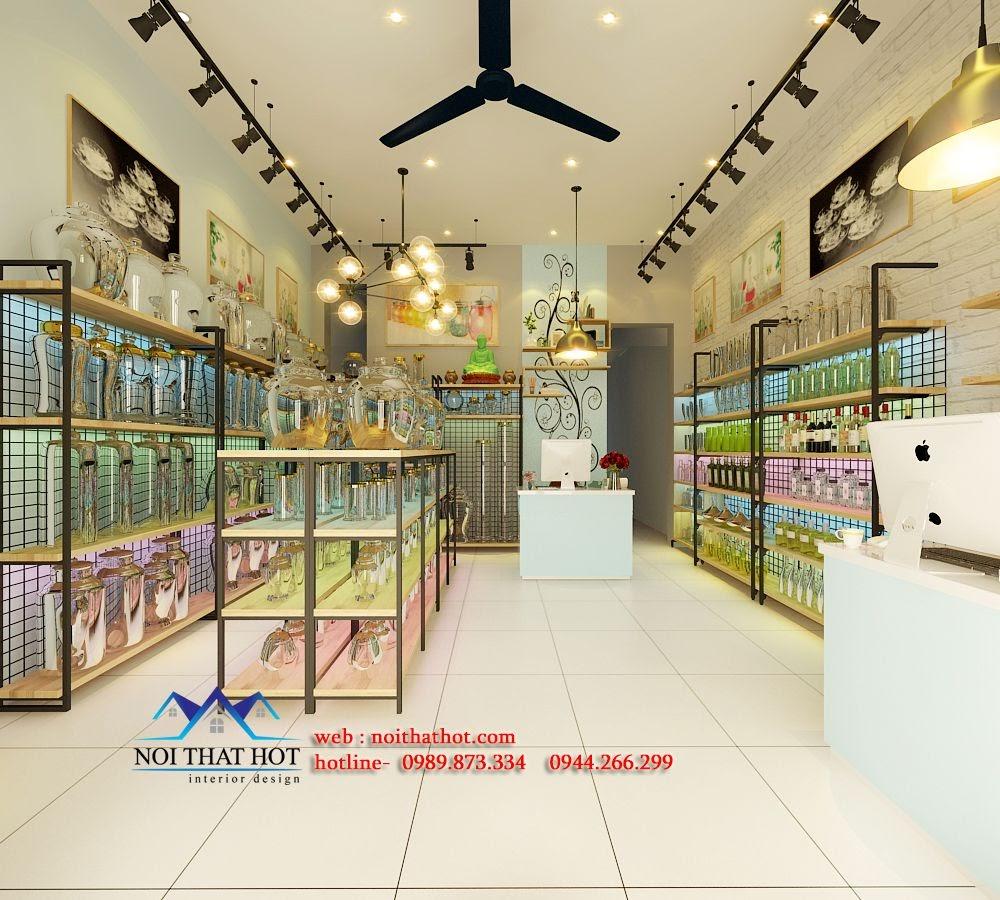 thiết kế cửa hàng pha lê, thiết kế cửa hàng thủy tinh