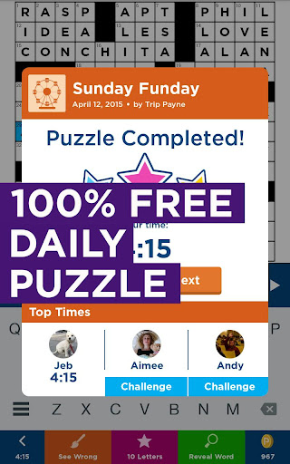 Daily Celebrity Crossword screenshot 13