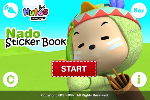 Hutos Nado Sticker Book