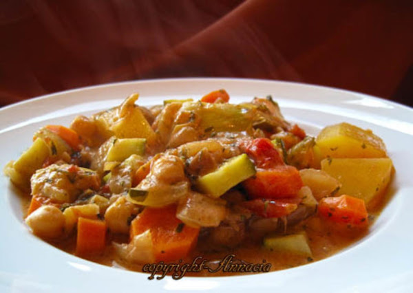 Lebanese Style Vegetable Ragout Recipe