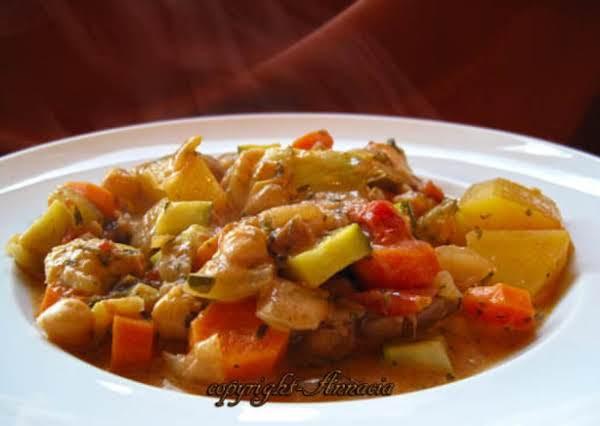Lebanese Style Vegetable Ragout Recipe