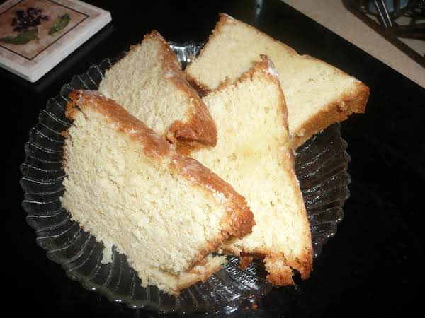 Lemon Coconut Pound Cake Recipe