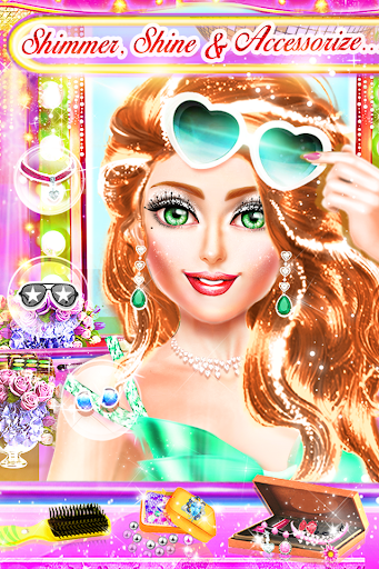 Code Triche My Daily Makeup - Jeu de filles APK MOD screenshots 1