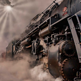 Polar Express to the North Pole by Tammy Scott - Transportation Trains ( steam train, locomotive, historical, history, train )