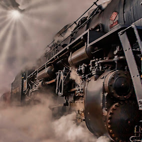 Polar Express to the North Pole by Tammy Scott - Transportation Trains ( steam train, locomotive, historical, history, train )