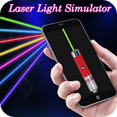 Laser Light Simulator