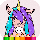Animated Glitter Coloring Book - Unicorn Android APK Download Free By Anhjaseka Coloring Games