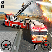 Game Fire Truck Driving School: 911 Emergency Response APK for Windows Phone