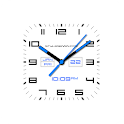Square Analog Watch Face-7 for Wear OS by Google icon