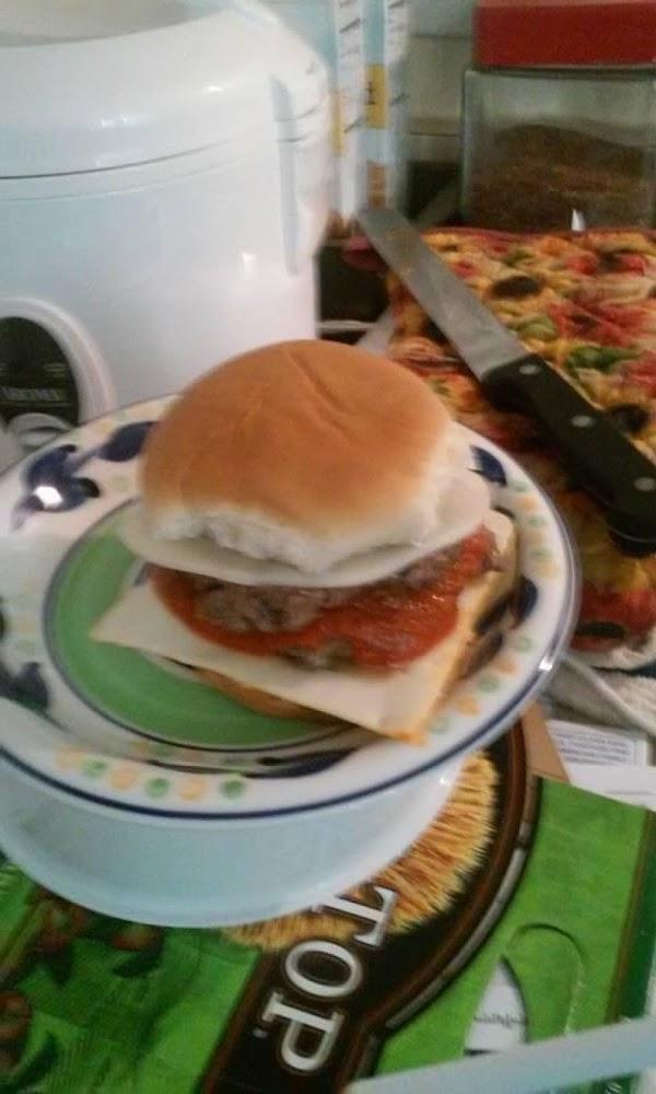 Meatball Burgers Recipe