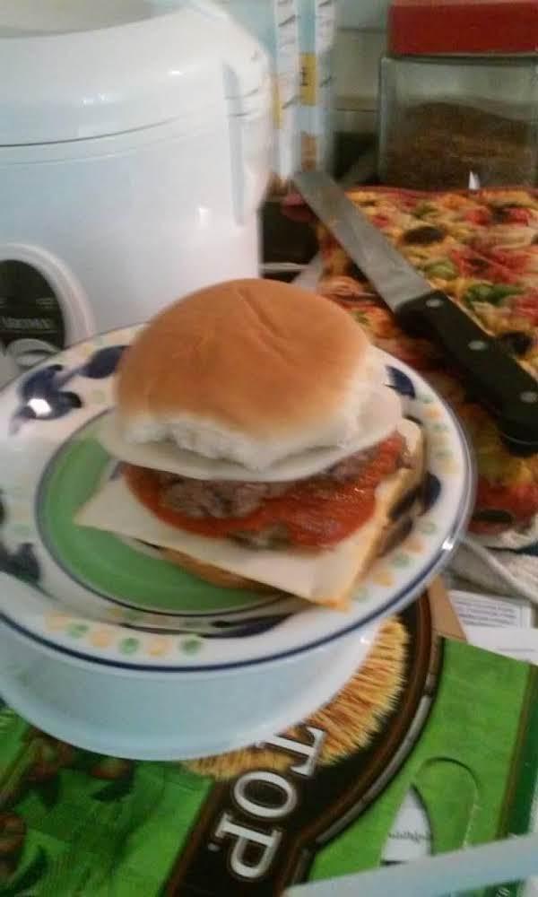 1st Meatball Burger I Ever Made.