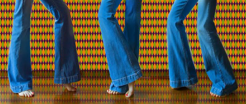 I jeans a zampa anni 70' di natalia_bondarenko