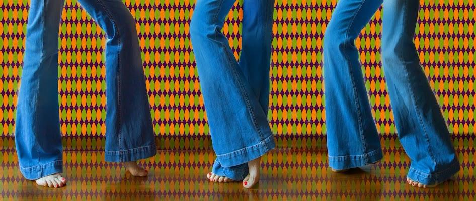 I jeans a zampa anni 70' di natalia_b