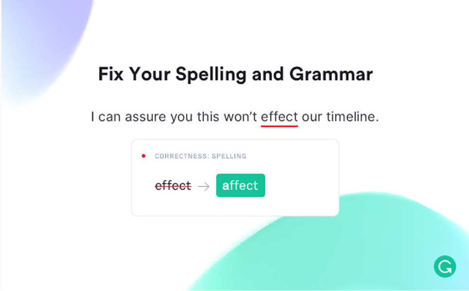 Content Writing Tool - Grammarly