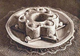 Photo: Vanília- vagy mogyorókrém. - Krem waniliowy (orzechowy).