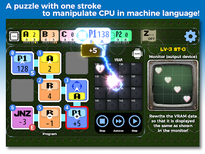TRYBIT POINTER - Puzzle in machine language 이미지[6]