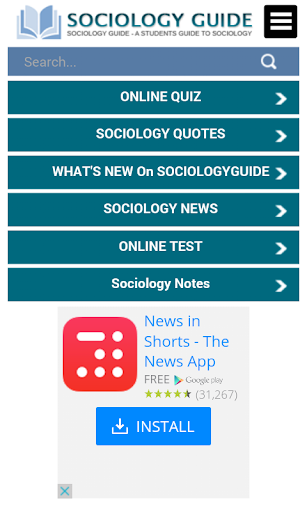 Sociology Guide