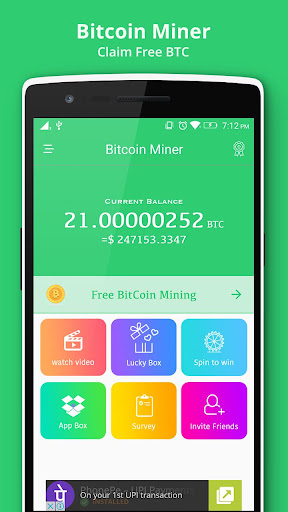 Download Bitcoin Miner - Claim Free BTC Google Play