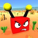 Bumper Worms Zone.io vs Tiny Wormate Cars Game icon