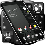 Black Theme Launcher Icon
