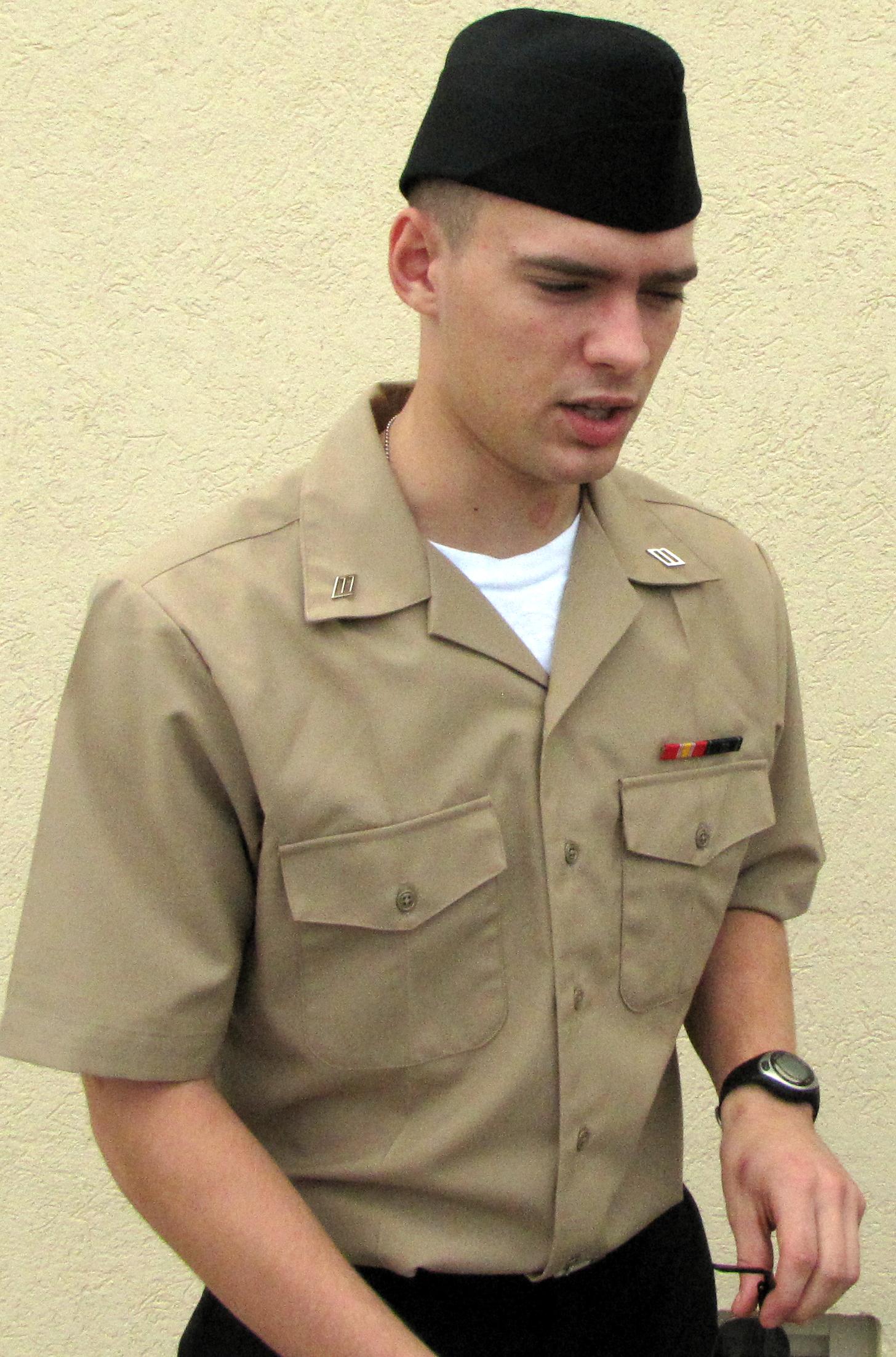 Photo: Service Uniform at PIR.